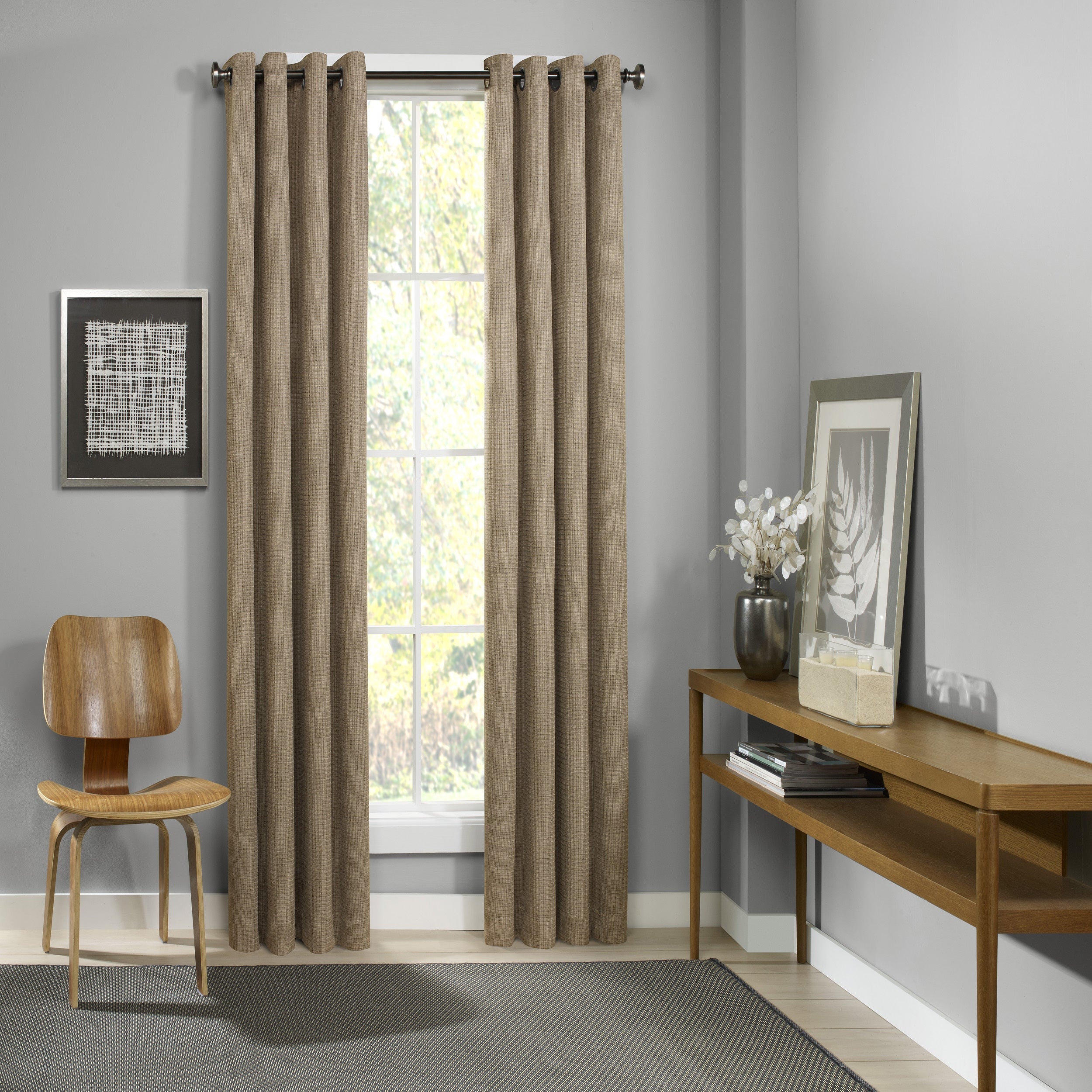 Eclipse Palisade Blackout Grommet Window Curtain Panel Intended For Eclipse Trevi Blackout Grommet Window Curtain Panels (View 11 of 20)