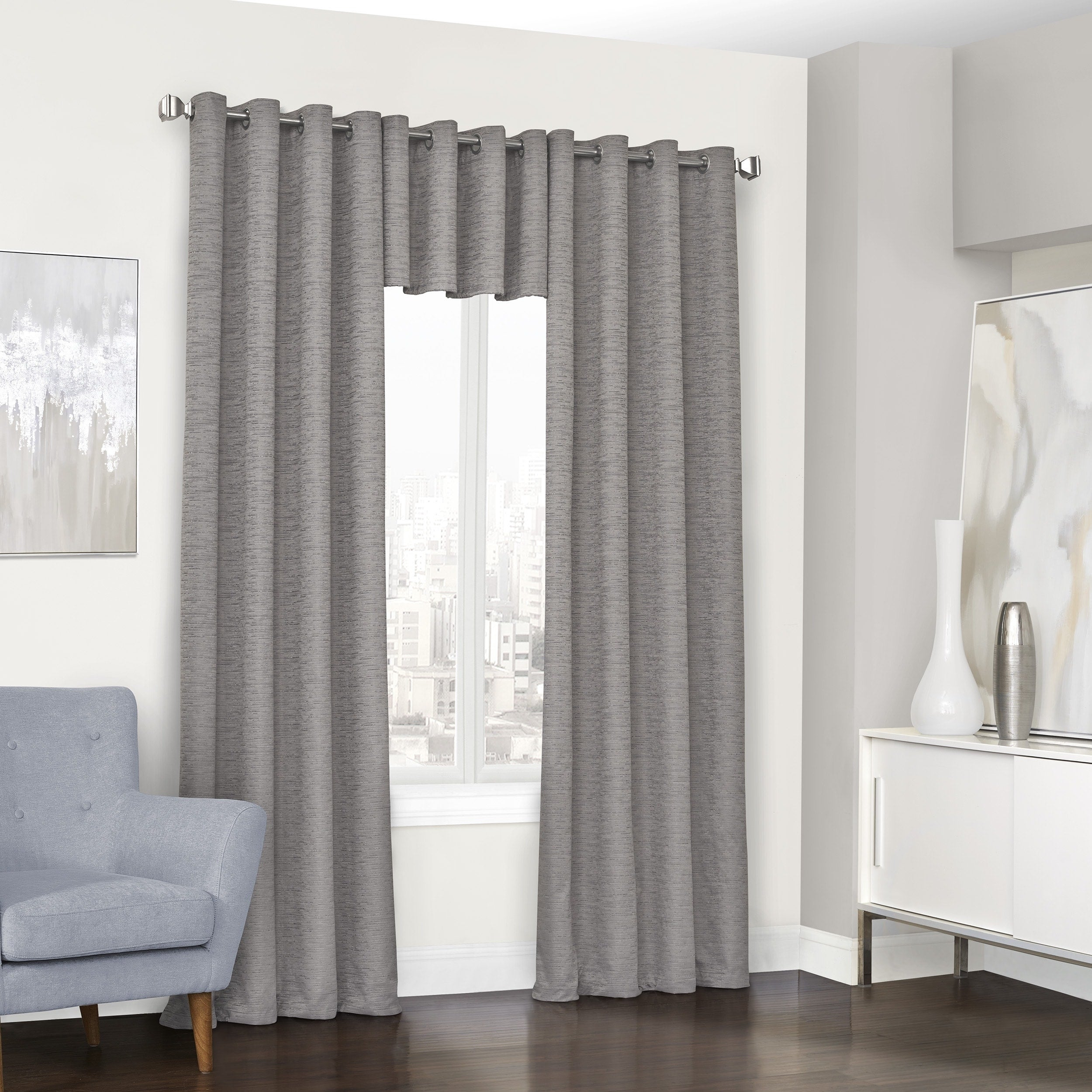 Eclipse Randall Blackout Grommet Window Curtain Panel – N/a In Eclipse Trevi Blackout Grommet Window Curtain Panels (View 5 of 20)