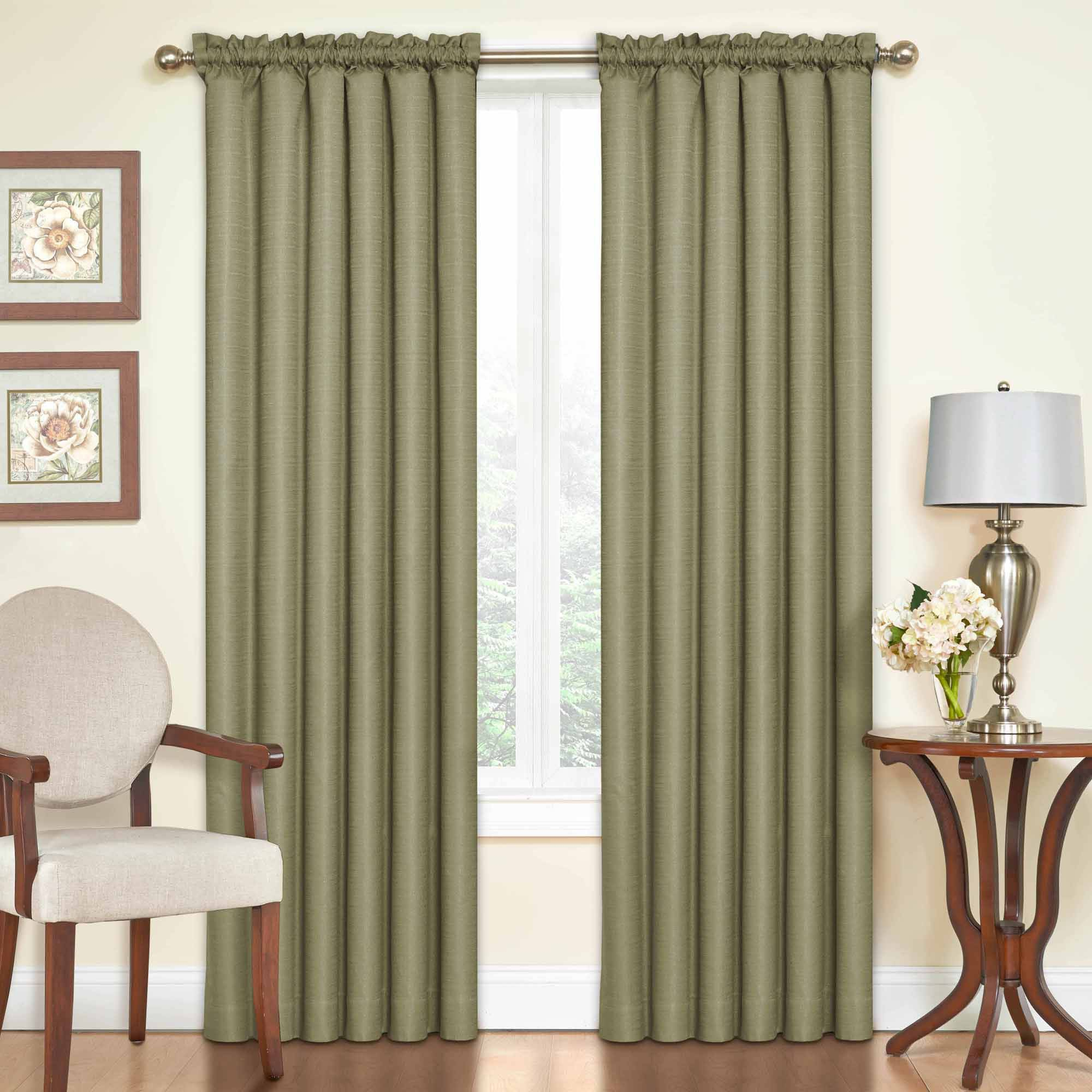 Eclipse Samara Blackout Energy Efficient Thermal Curtain Pertaining To Softline Trenton Grommet Top Curtain Panels (View 6 of 30)