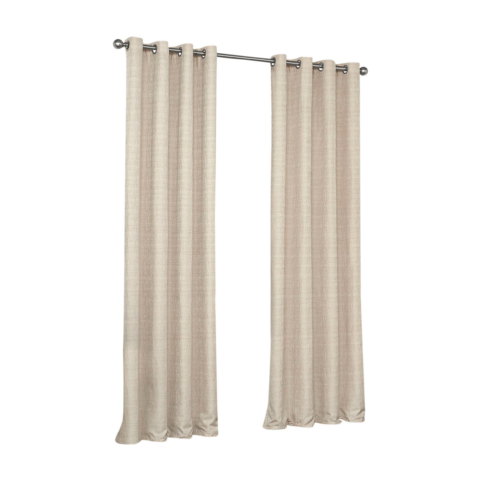 Eclipse Trevi Blackout Grommet Curtain Inside Eclipse Trevi Blackout Grommet Window Curtain Panels (View 8 of 20)