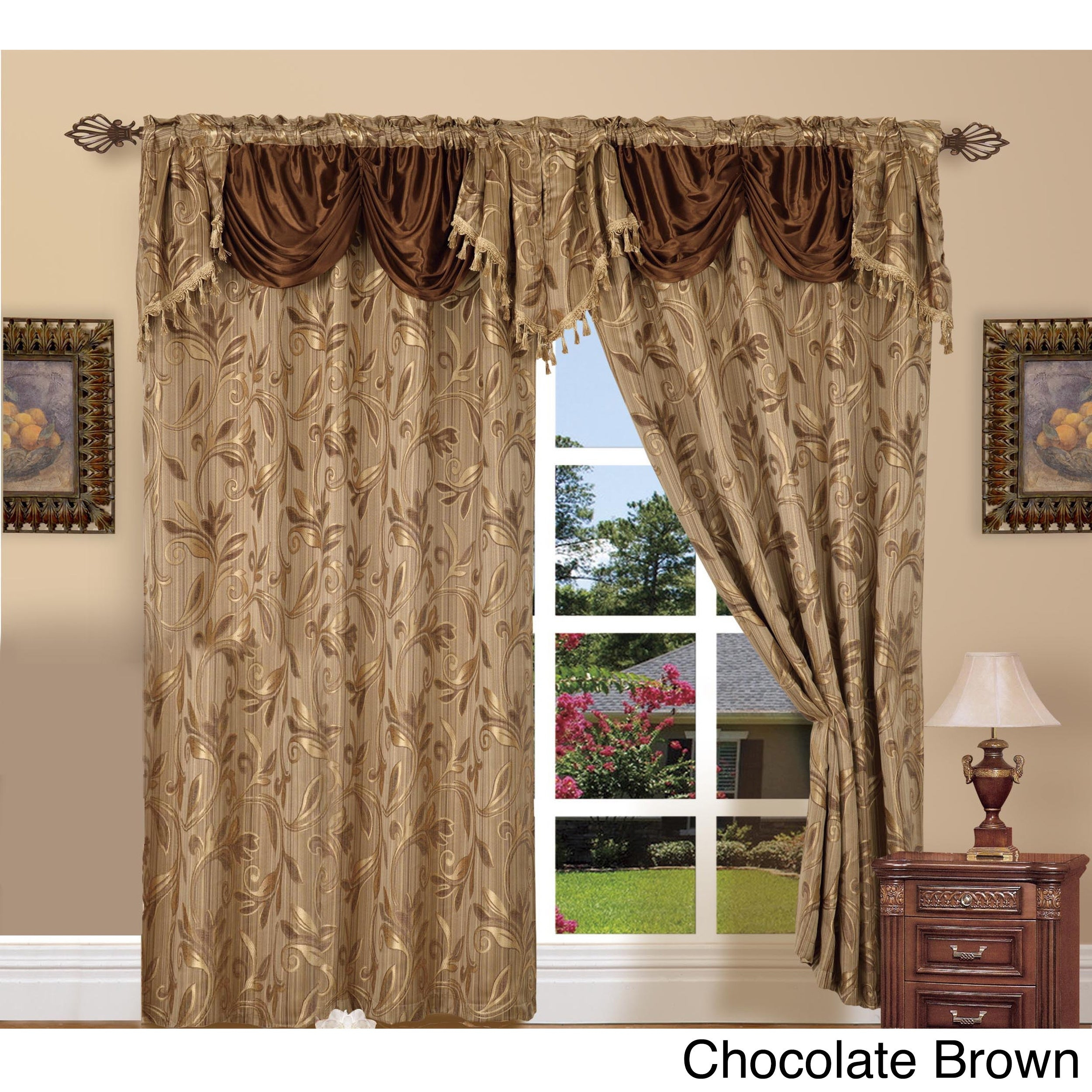 Featured Photo of Elegant Comfort Window Sheer Curtain Panel Pairs