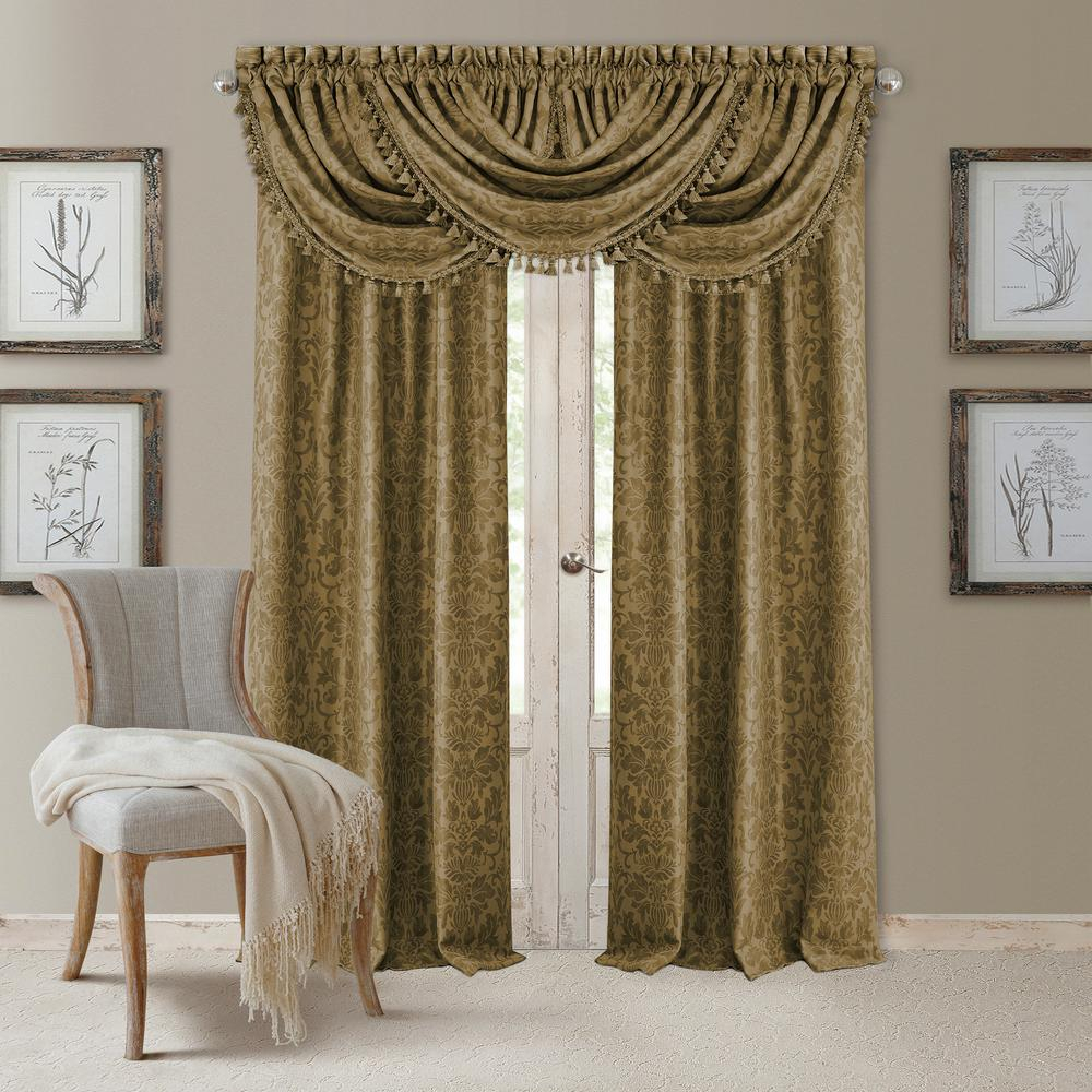 Elrene Antonia Blackout Window Curtain Intended For Elrene Mia Jacquard Blackout Curtain Panels (View 9 of 20)