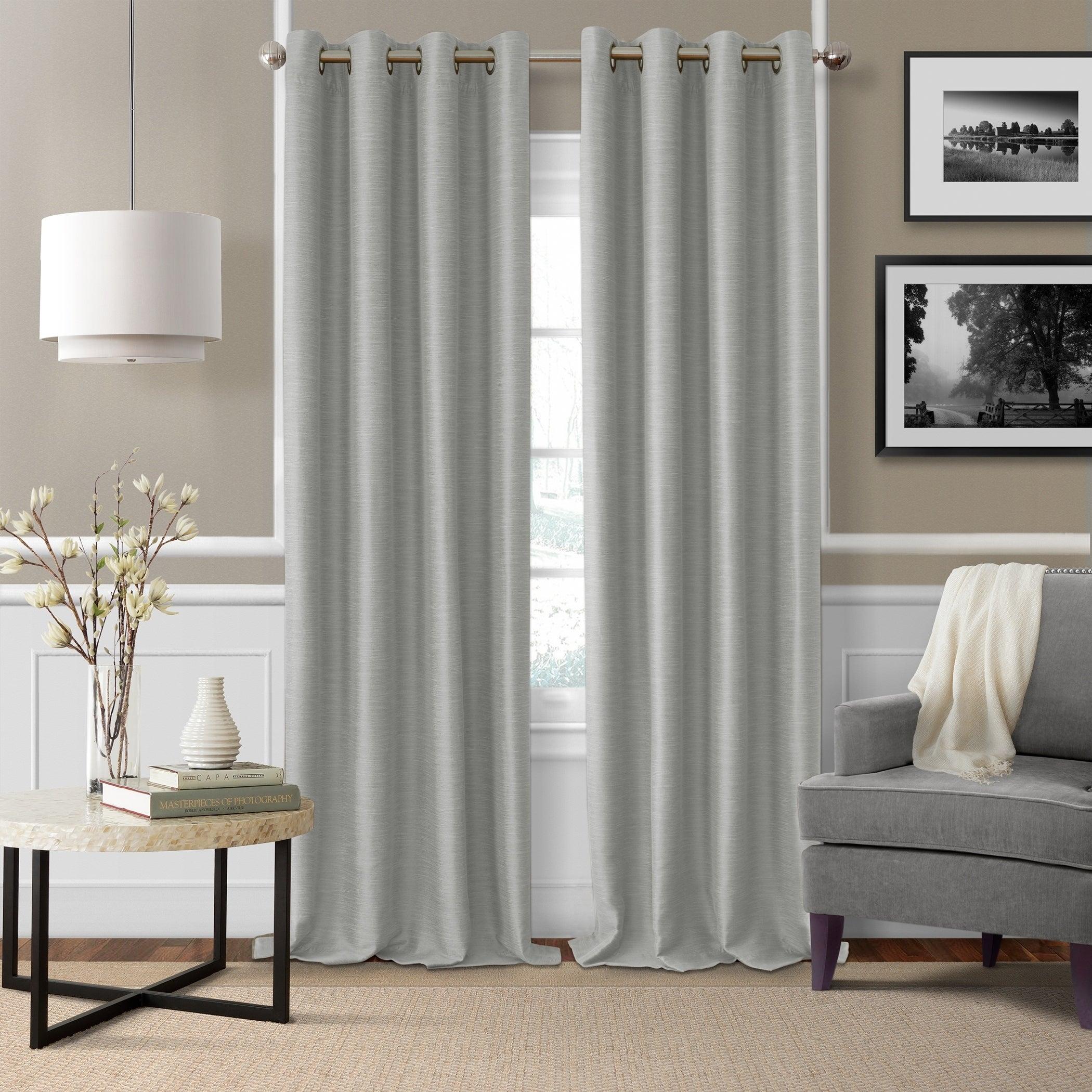 Elrene Brooke Blackout Window Curtain Panel In All Seasons Blackout Window Curtains (Image 12 of 20)