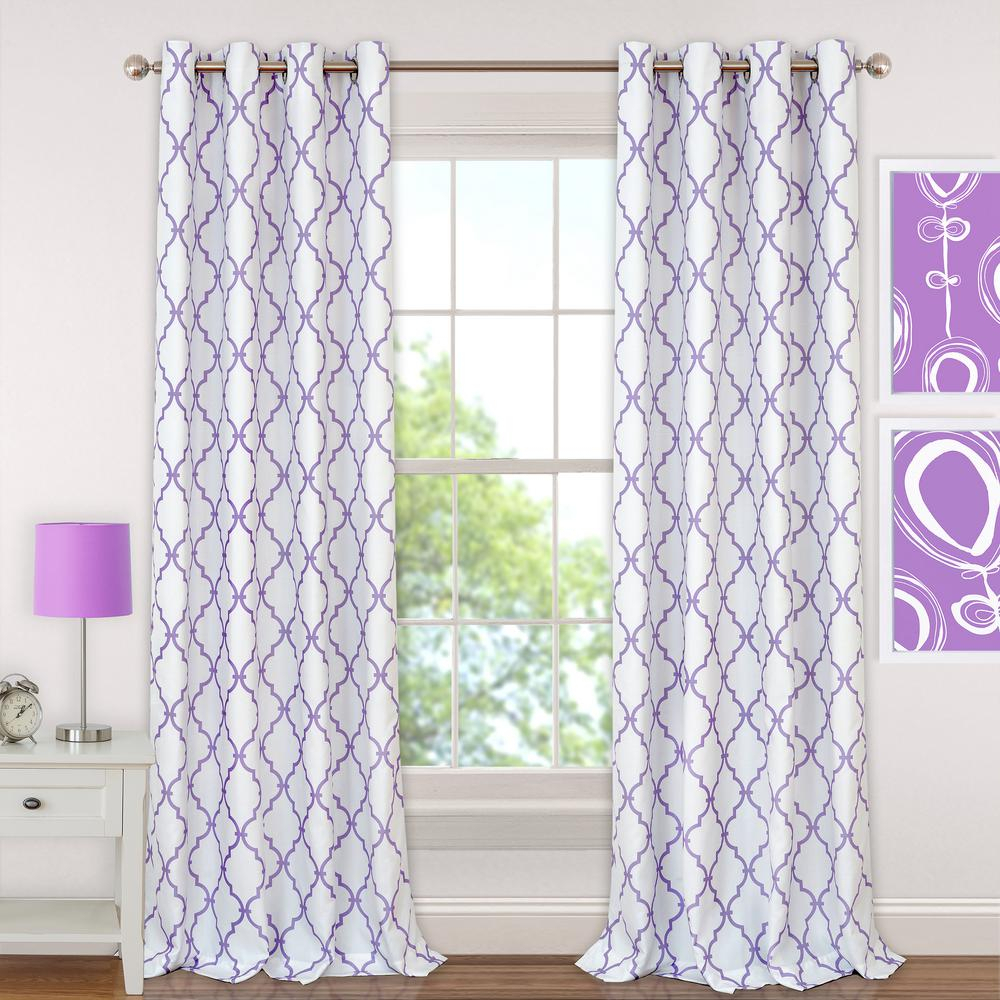 Elrene Candice Kids Blackout Window Curtain Regarding Elrene Aurora Kids Room Darkening Layered Sheer Curtains (View 7 of 20)
