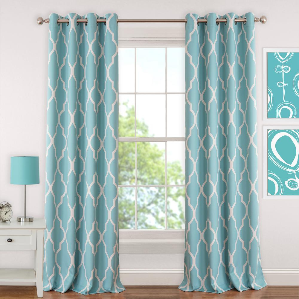 Elrene Emery Kids Blackout Window Curtain For Elrene Aurora Kids Room Darkening Layered Sheer Curtains (View 20 of 20)