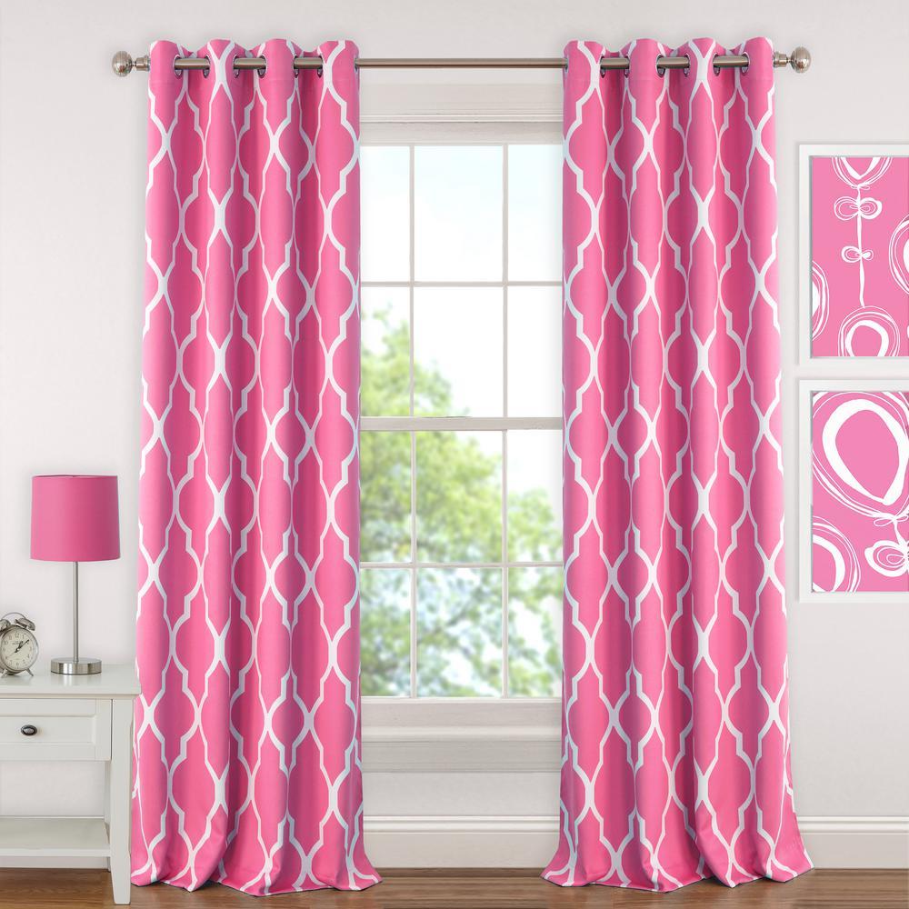 Elrene Emery Kids Blackout Window Curtain In Kaiden Geometric Room Darkening Window Curtains (View 15 of 20)