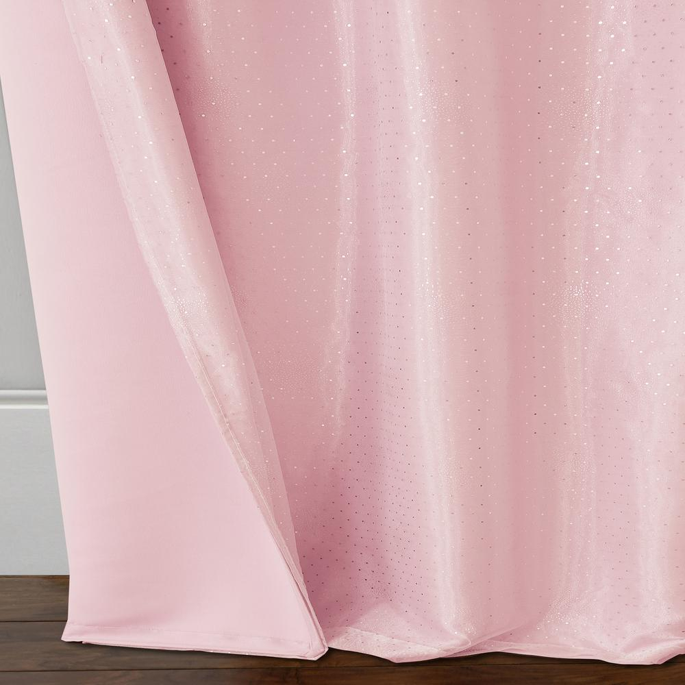 Elrene Home Fashions Aurora Kids Room Darkening Layered Sheer Window Curtain For Elrene Aurora Kids Room Darkening Layered Sheer Curtains (View 4 of 20)