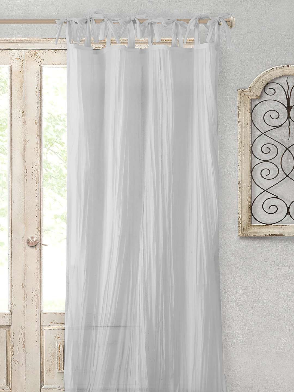 Elrene Home Fashions Jolie Window Curtain Panel Jolie Window Throughout Elrene Jolie Tie Top Curtain Panels (View 20 of 20)