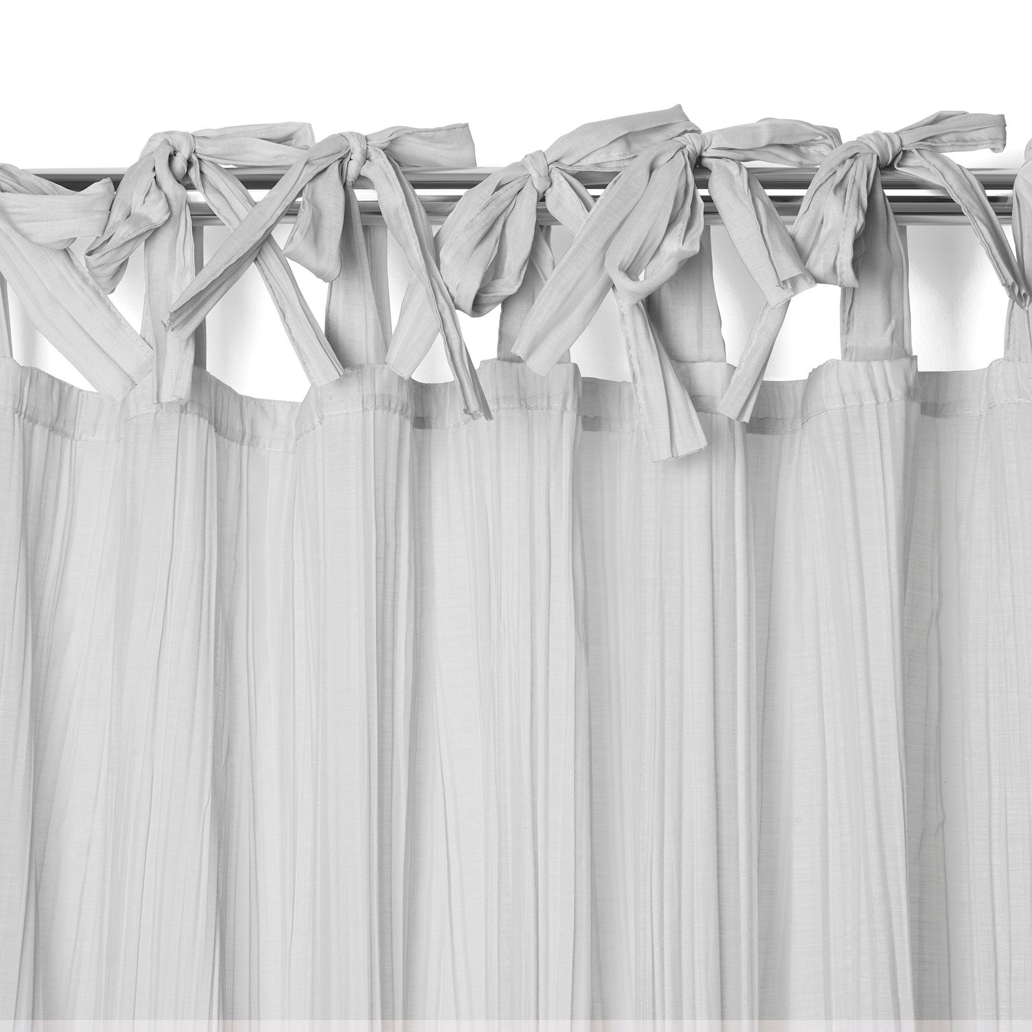 Elrene Jolie Tie Top Curtain Panel With Regard To Elrene Jolie Tie Top Curtain Panels (View 4 of 20)