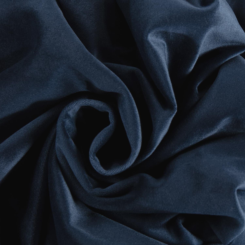 Eternal Blue Heritage Plush Velvet Fabric Pertaining To Heritage Plush Velvet Curtains (View 20 of 20)