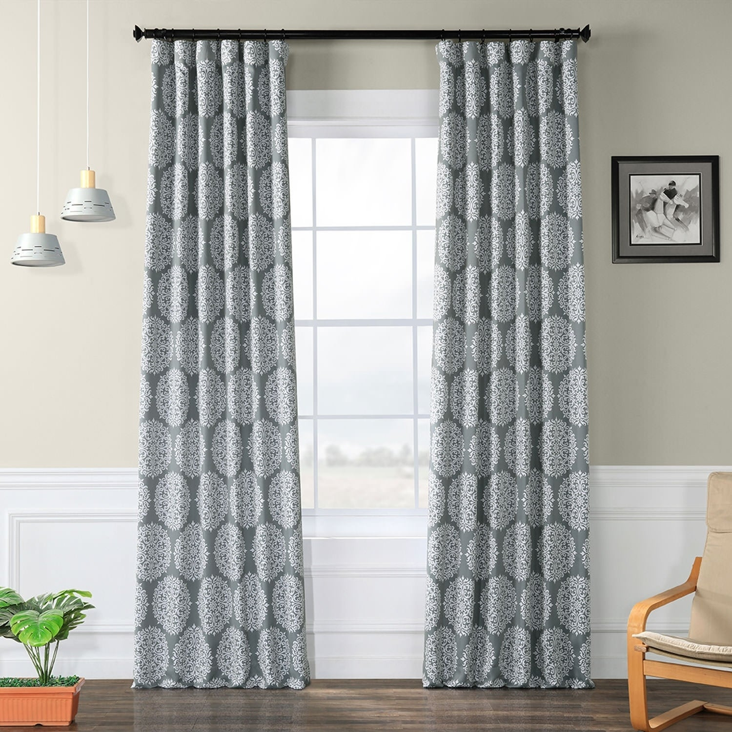 Exclusive Fabrics Meridian Blackout Curtain Panel Pair With Meridian Blackout Window Curtain Panels (View 11 of 20)