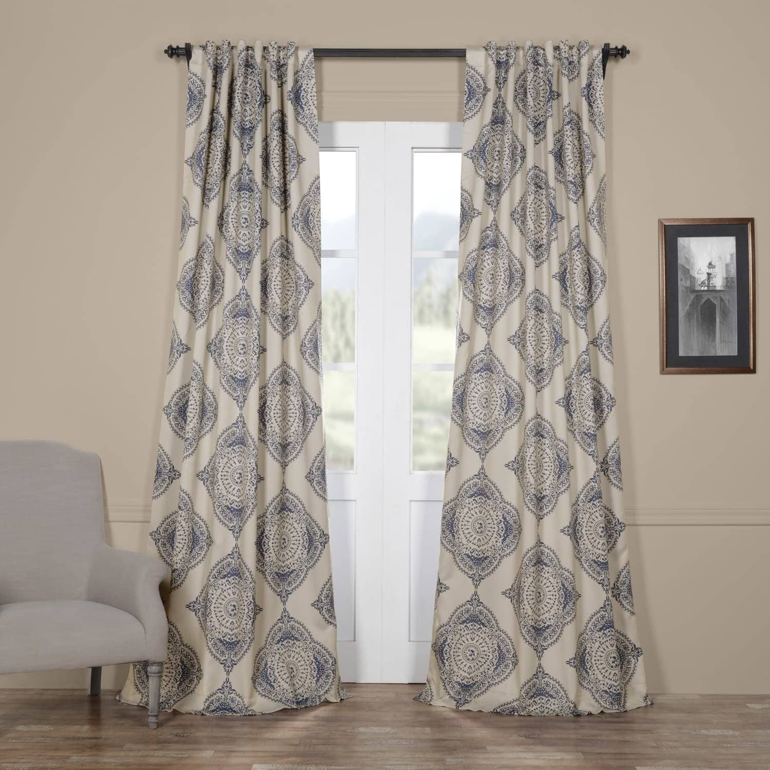 Exclusive Fabrics Moroccan Style Thermal Insulated Blackout In Moroccan Style Thermal Insulated Blackout Curtain Panel Pairs (View 7 of 20)