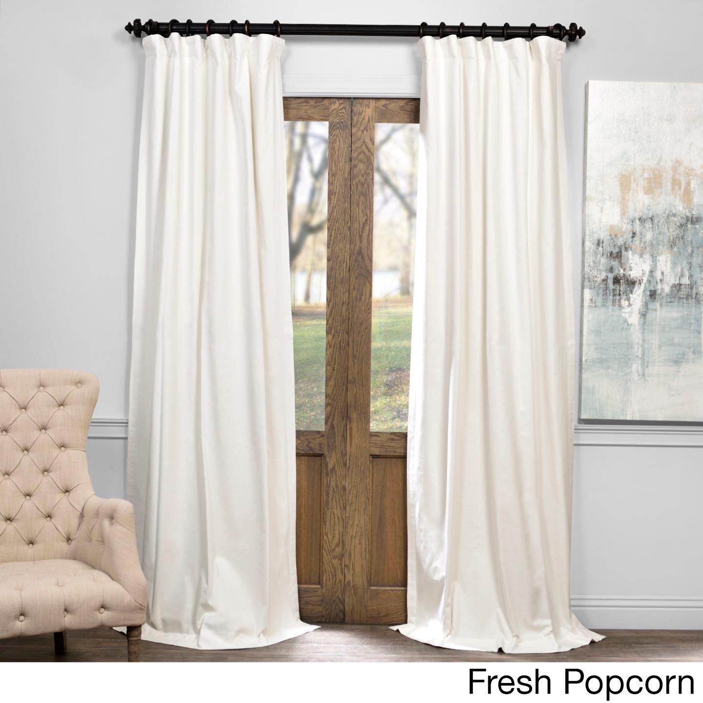 Exclusive Fabrics Solid Cotton True Blackout Curtain (fresh With Regard To Solid Cotton True Blackout Curtain Panels (View 10 of 30)
