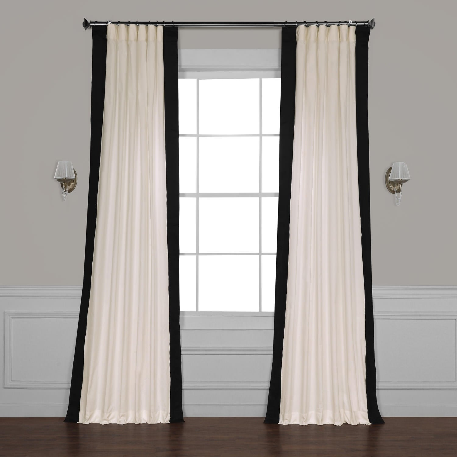 Featured Photo of Vertical Colorblock Panama Curtains