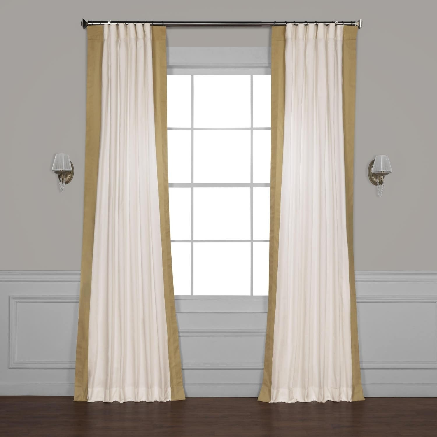 Exclusive Fabrics Vertical Colorblock Panama Curtain With Regard To Vertical Colorblock Panama Curtains (View 8 of 30)