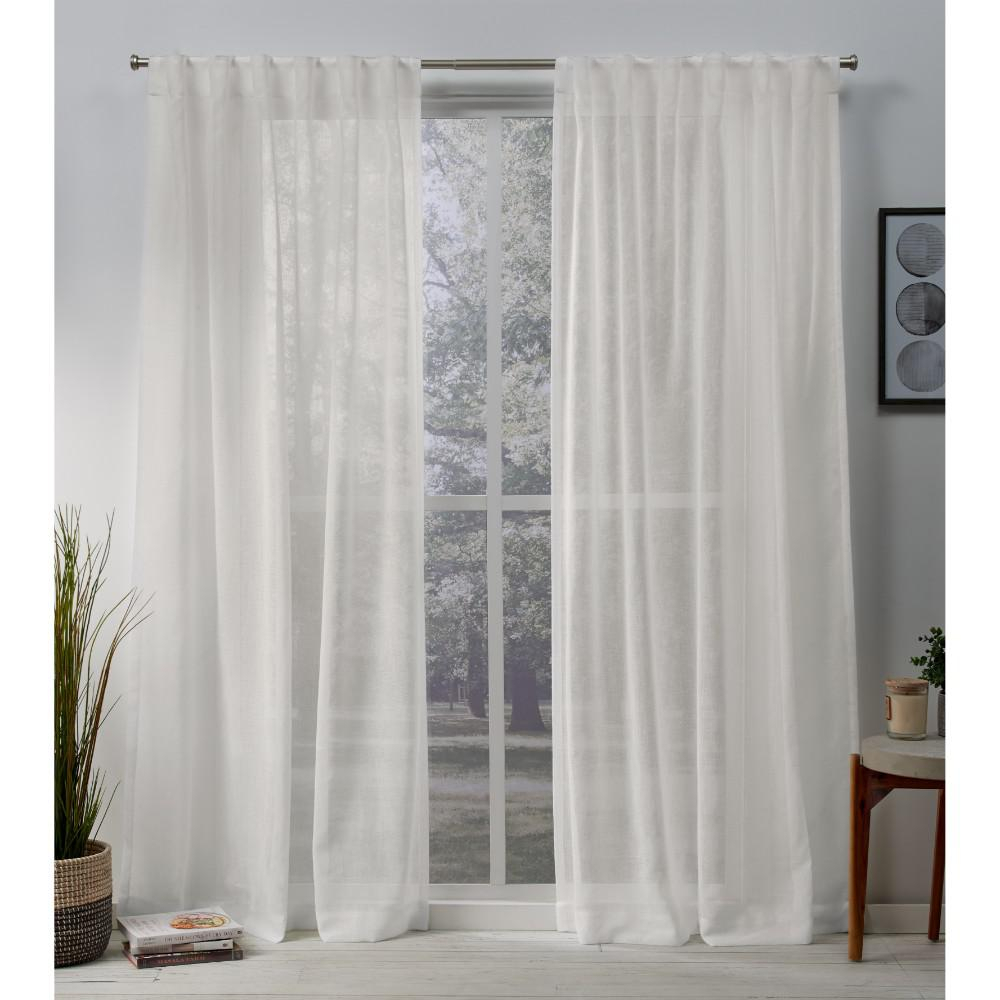 Exclusive Home Curtains Belgian 50 In. W X 108 In (View 9 of 20)