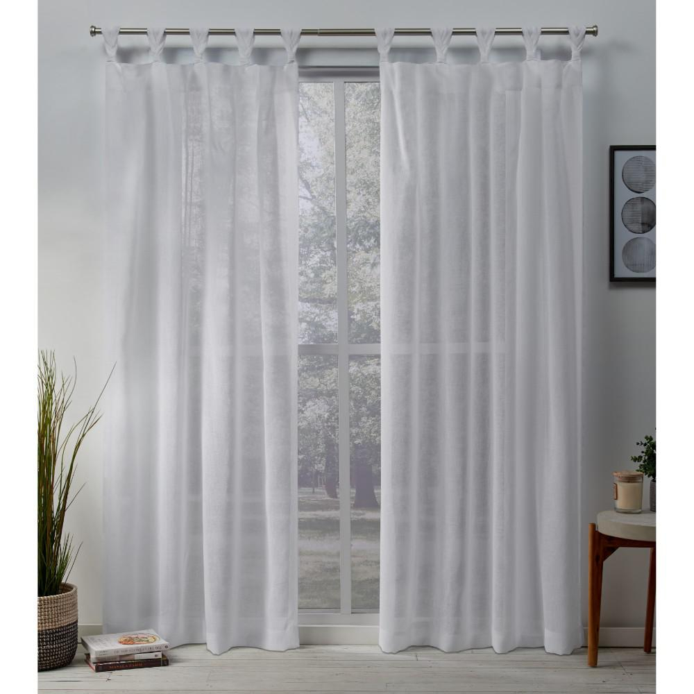Exclusive Home Curtains Belgian 50 In. W X 84 In (View 10 of 30)