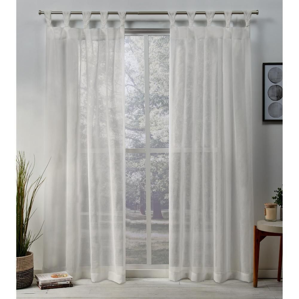 Exclusive Home Curtains Belgian 50 In. W X 84 In (View 10 of 20)