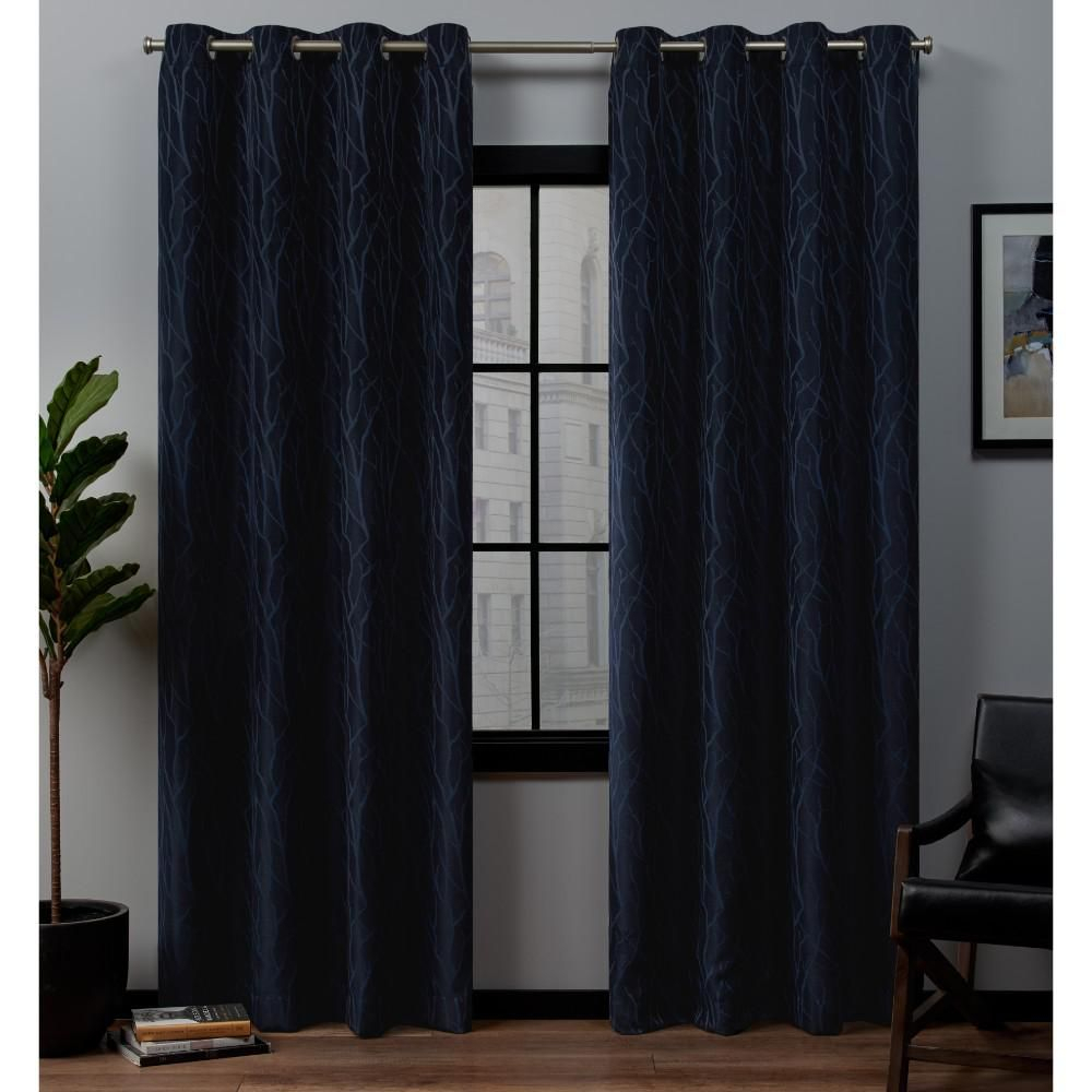 Exclusive Home Curtains Forest Hill 52 In. W X 96 In (View 6 of 20)