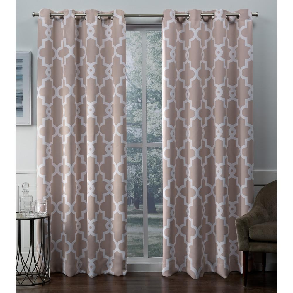 Exclusive Home Curtains Ironwork 52 In. W X 96 In (View 16 of 30)