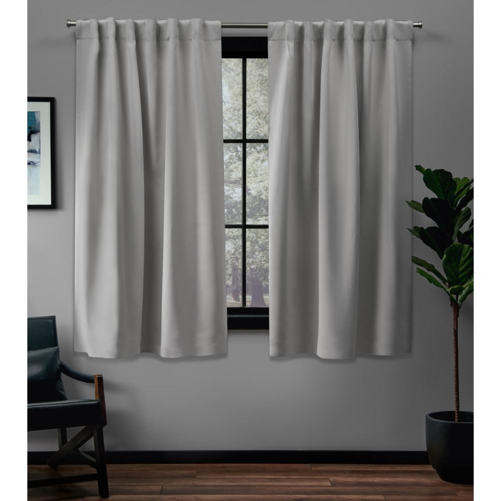 Exclusive Home Curtains Sateen 52 In. W X 63 In (View 14 of 20)