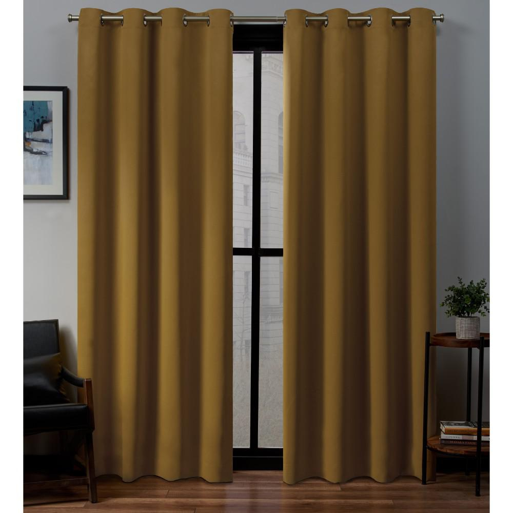 Exclusive Home Curtains Sateen 52 In. W X 84 In (View 19 of 20)