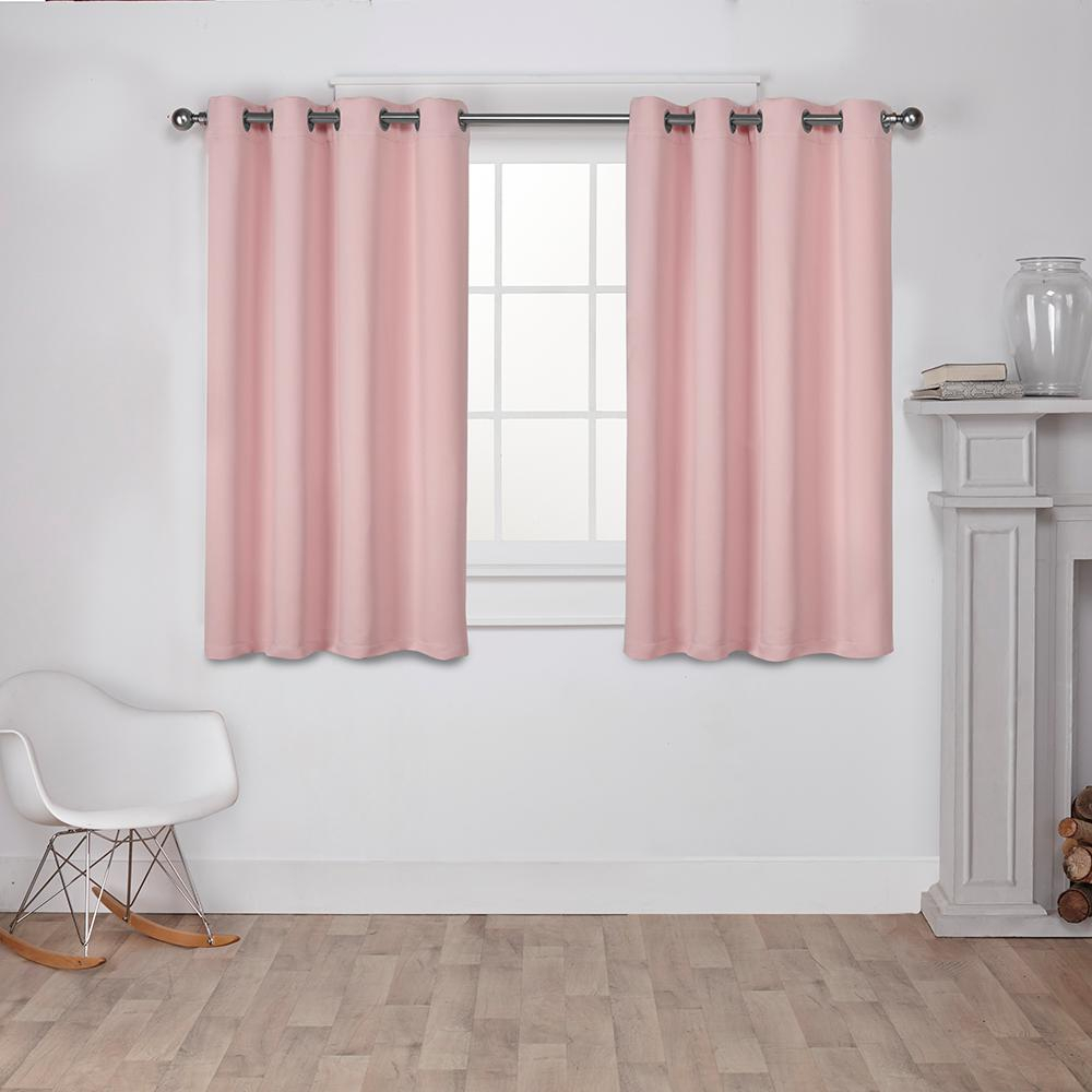 Exclusive Home Curtains Sateen Twill Weave Blackout Window Throughout Sateen Twill Weave Insulated Blackout Window Curtain Panel Pairs (View 8 of 20)