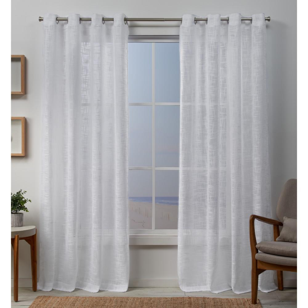 Exclusive Home Curtains Sena 54 In. W X 84 In (View 4 of 20)