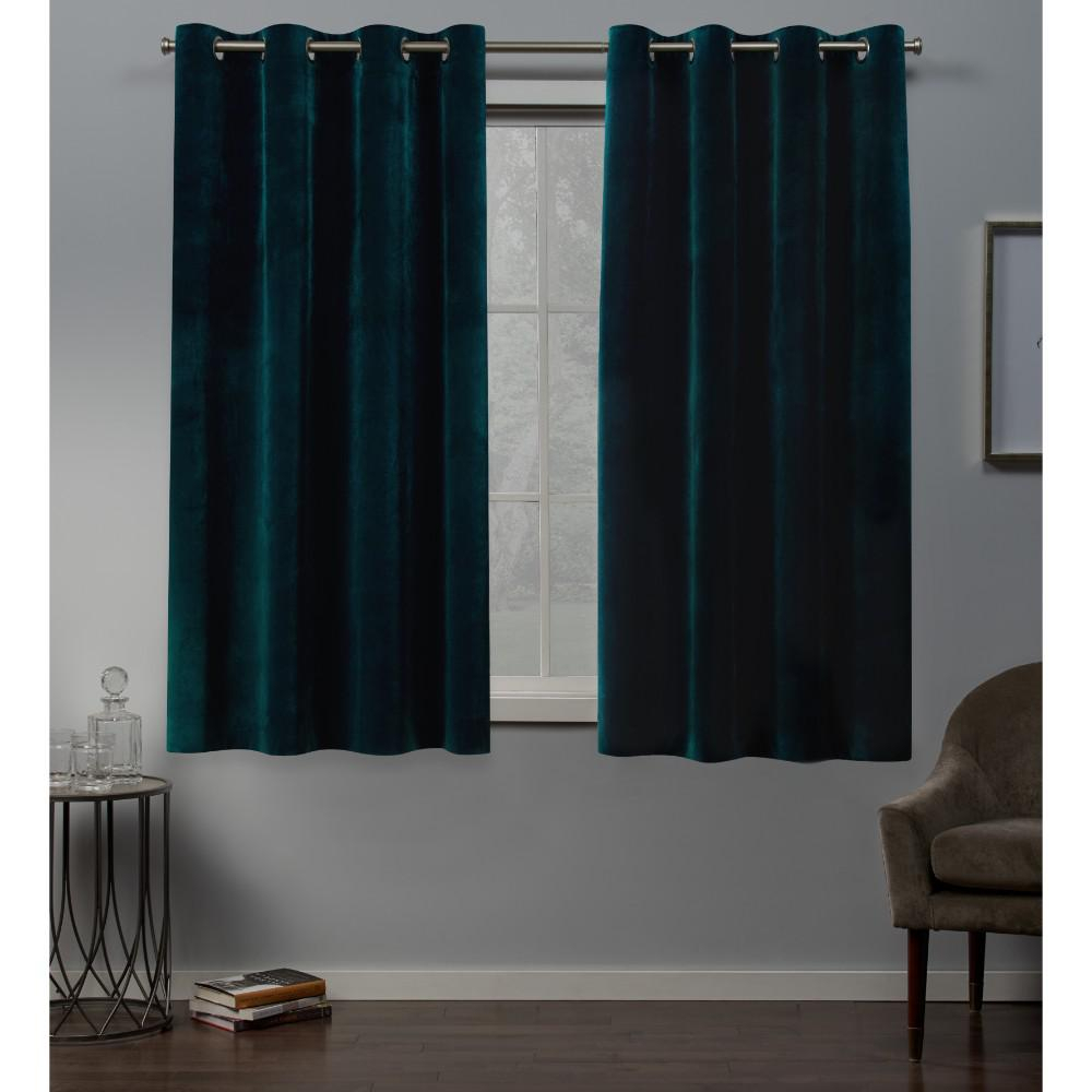 Exclusive Home Curtains Velvet 54 In. W X 63 In (View 3 of 30)
