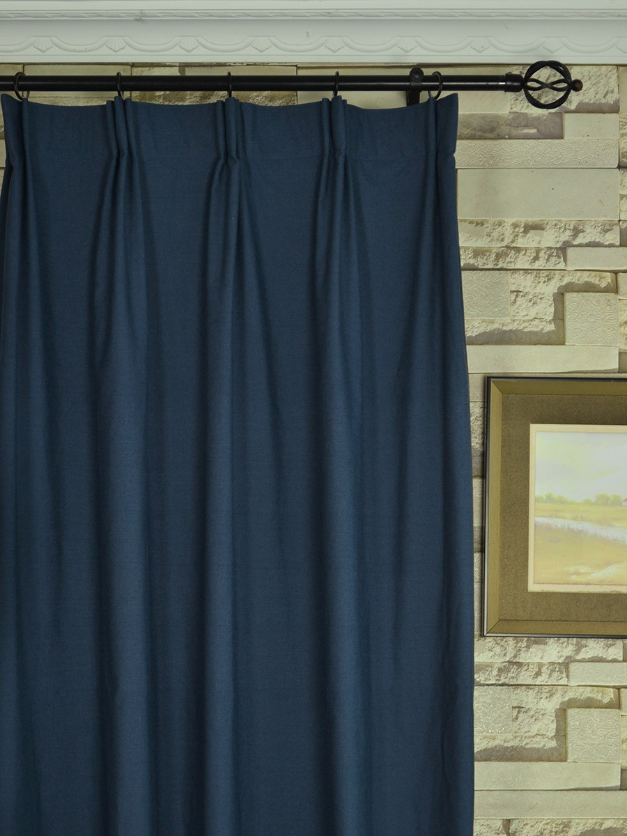 Extra Wide Hudson Solid Versatile Pleat Curtains 100 – 120 Pertaining To Solid Cotton Curtain Panels (View 20 of 30)