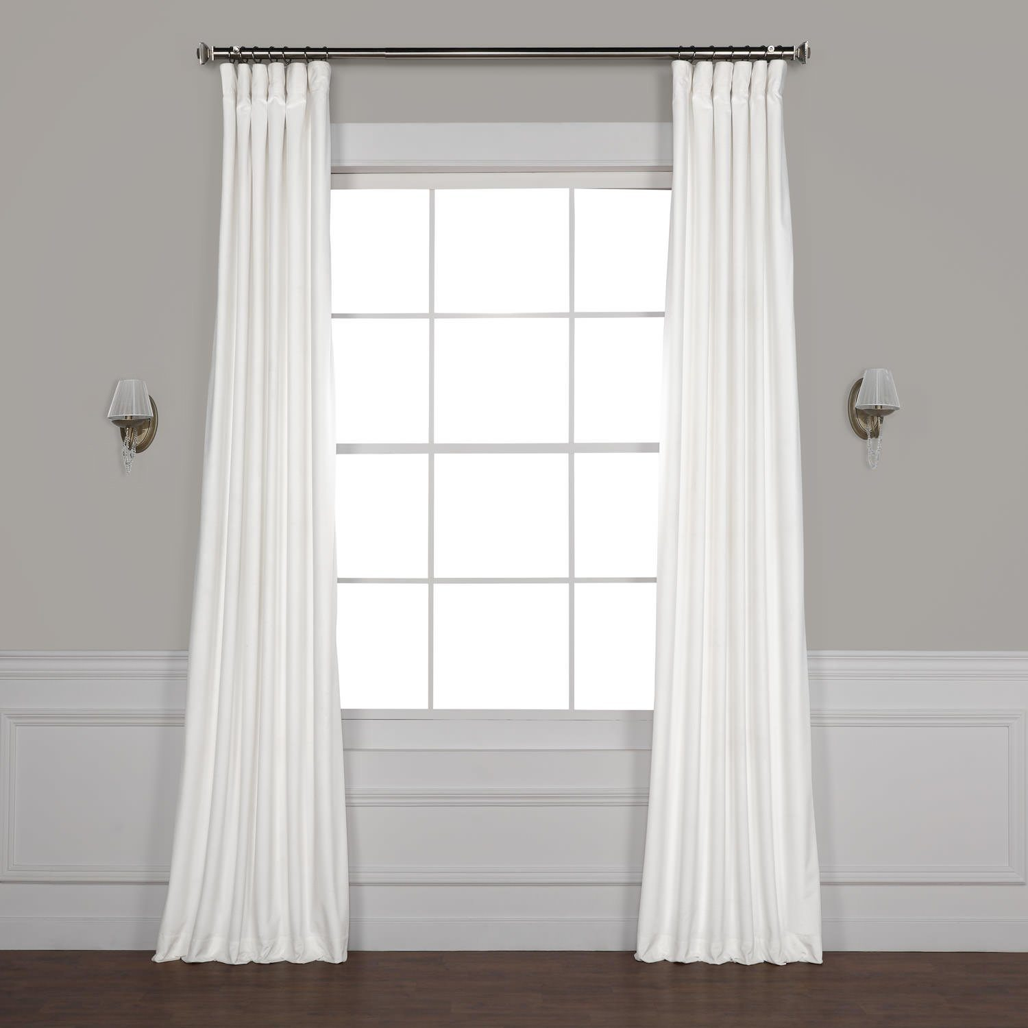 🔮 Meant To Be 🔮 Livia Riverton Solid Heritage Plush Velvet For Heritage Plush Velvet Single Curtain Panels (View 13 of 20)