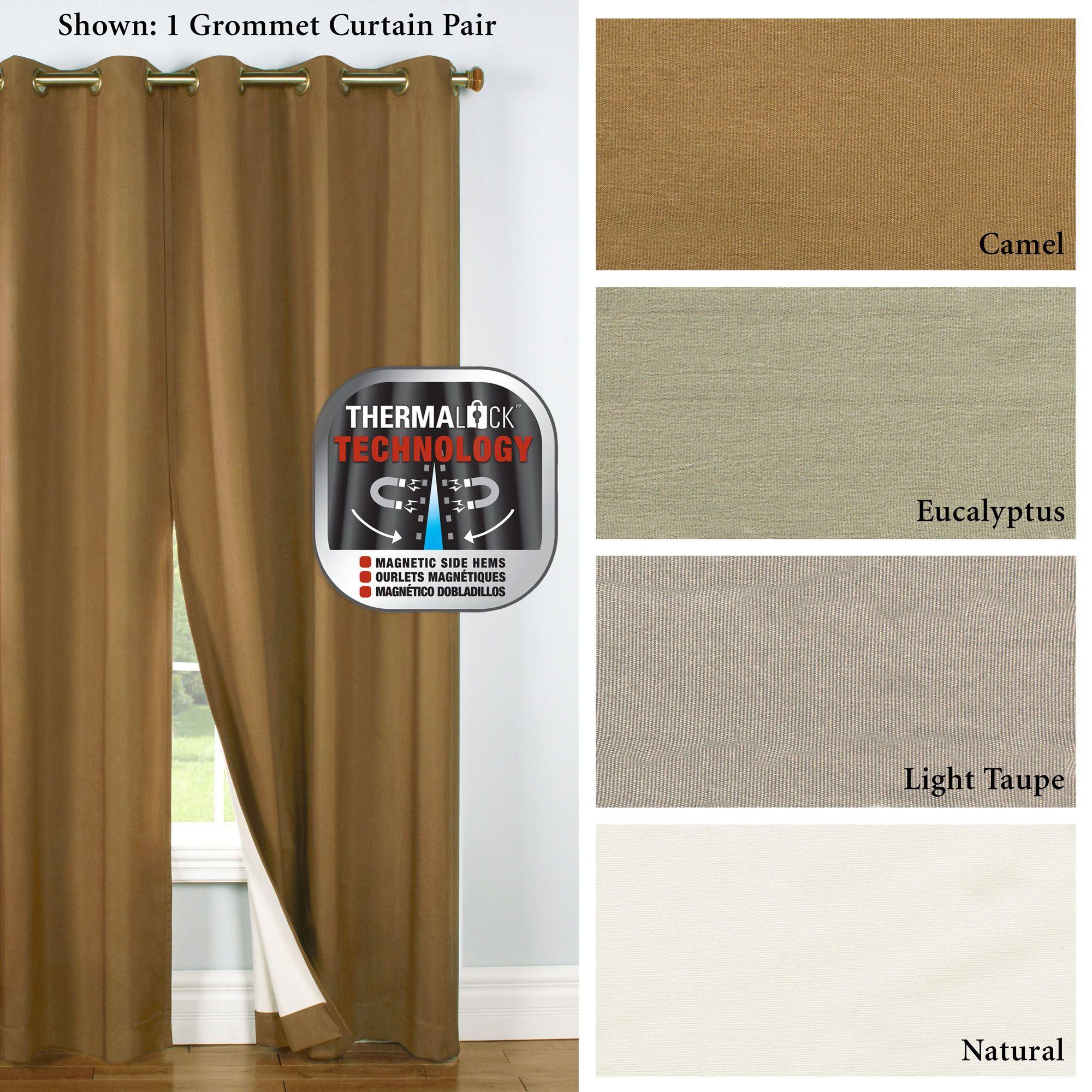 Four Seasons Thermalogic(tm) Blackout Grommet Curtains In All Seasons Blackout Window Curtains (View 9 of 20)