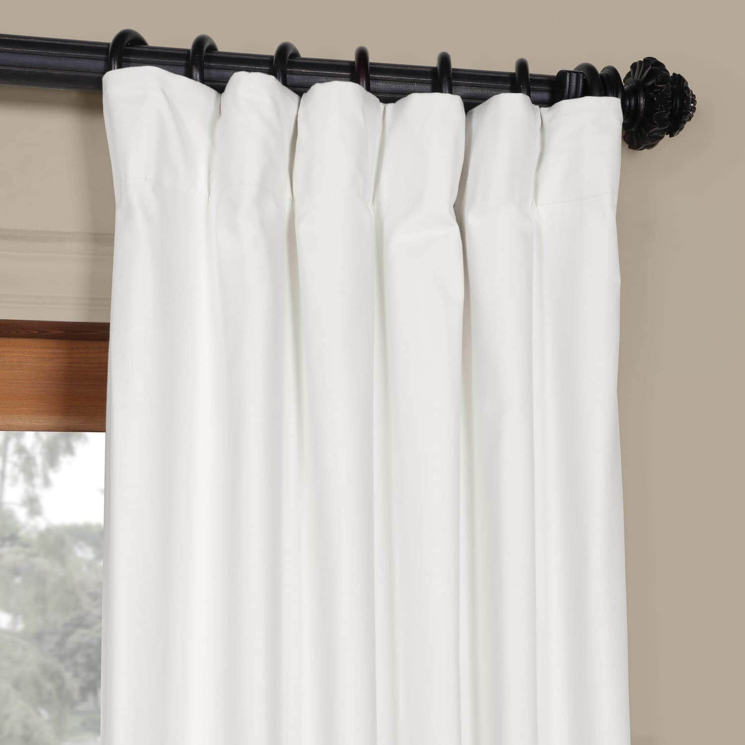 Fresh Popcorn Solid Cotton Curtain | Curtains | Curtains Pertaining To Solid Cotton Curtain Panels (View 23 of 30)