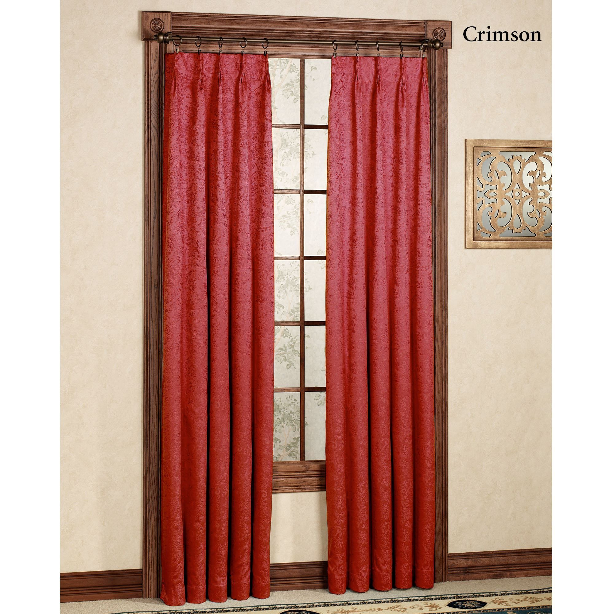 Gabrielle Pinch Pleat Thermal Room Darkening Curtains | For For Double Pinch Pleat Top Curtain Panel Pairs (View 18 of 20)