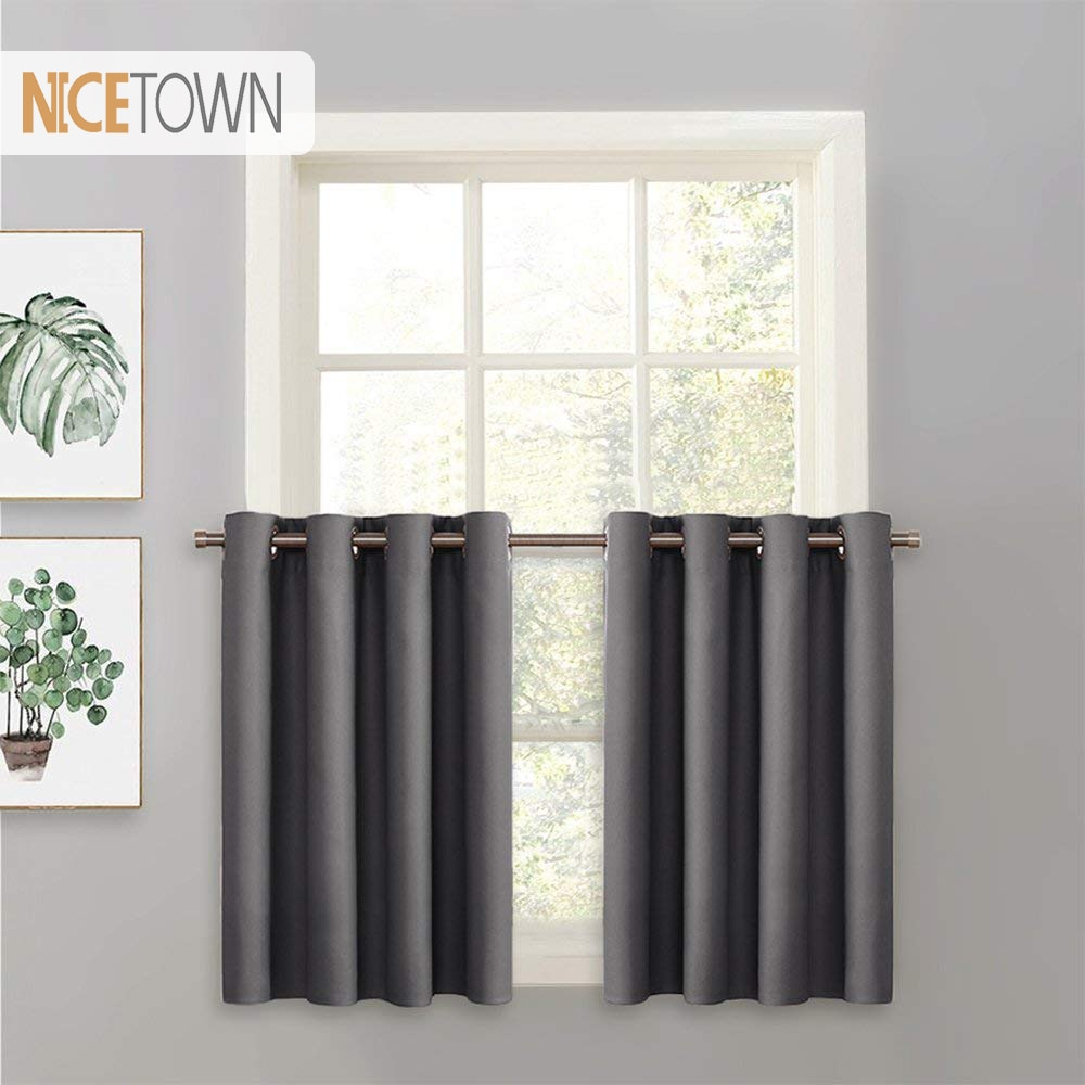 Gardinen & Vorhänge Pair Of Thermal Insulated Blackout Regarding Solid Insulated Thermal Blackout Long Length Curtain Panel Pairs (View 18 of 30)