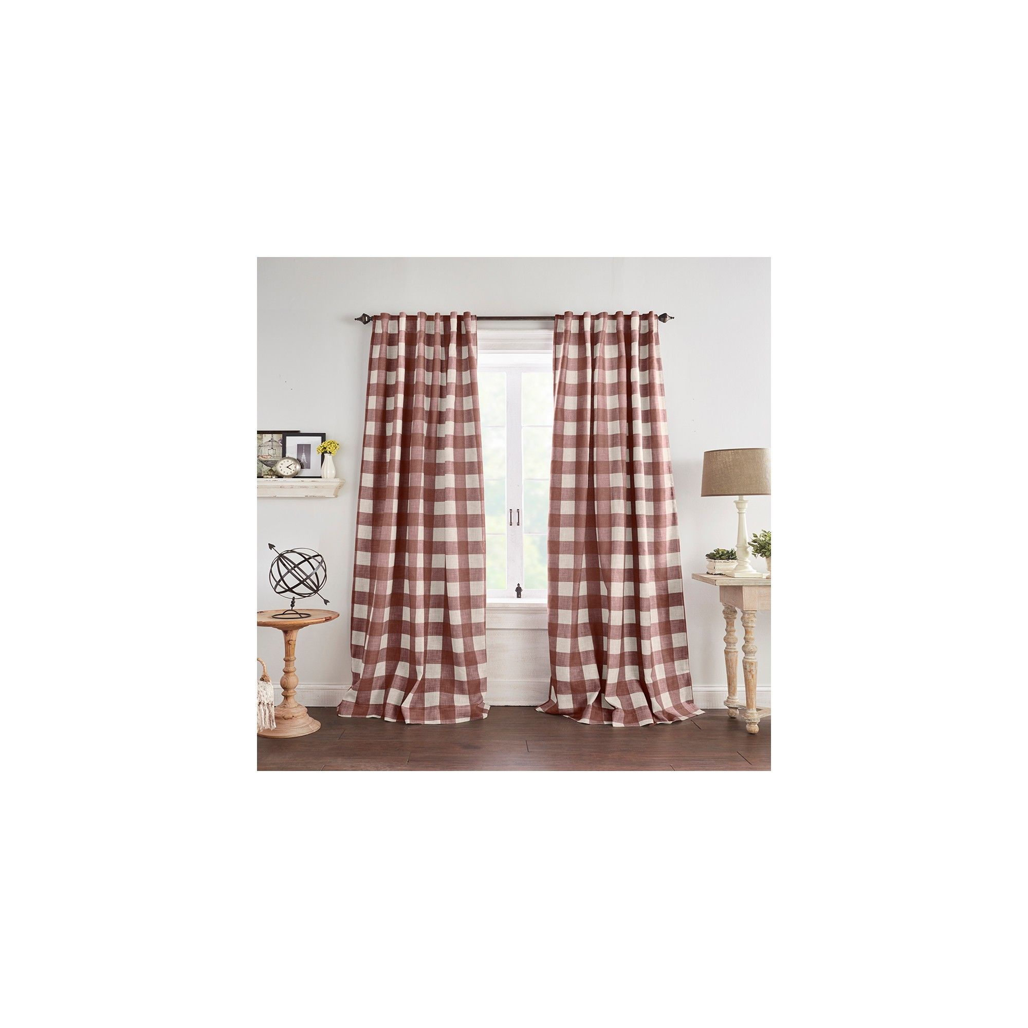 "Grainger Buffalo Check Blackout Window Curtain Panel – 52"" X Inside Grainger Buffalo Check Blackout Window Curtains (View 4 of 20)"