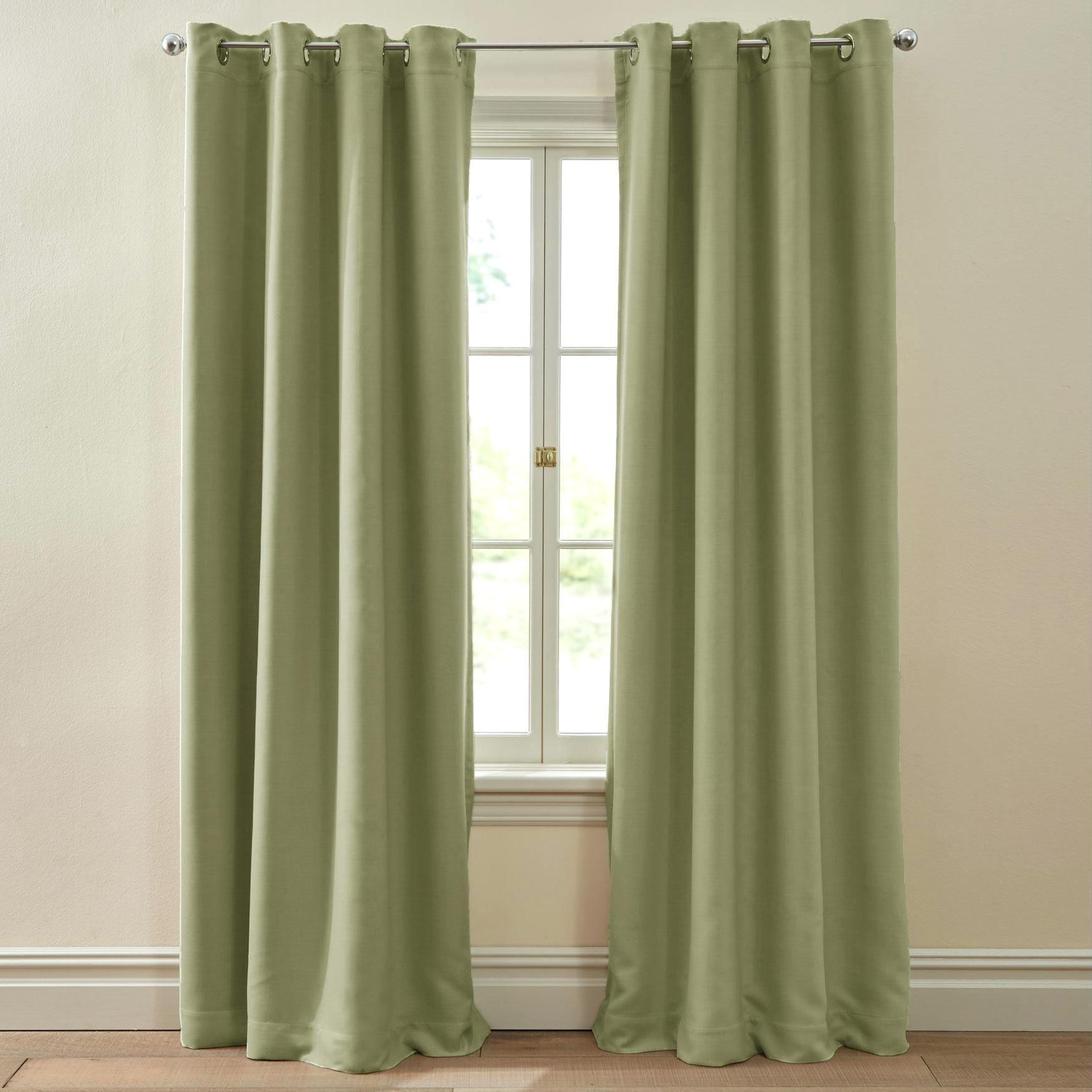 Gromet Panel Curtains – Bshteam.co intended for Ultimate Blackout Short Length Grommet Panels (Image 11 of 30)