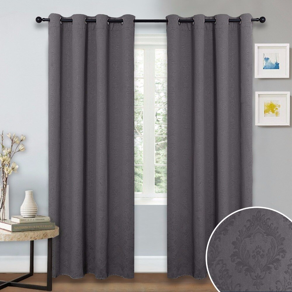 Grommet Thermal Insulated Drapes – Gala Bakken Design Regarding Silvertone Grommet Thermal Insulated Blackout Curtain Panel Pairs (View 24 of 30)