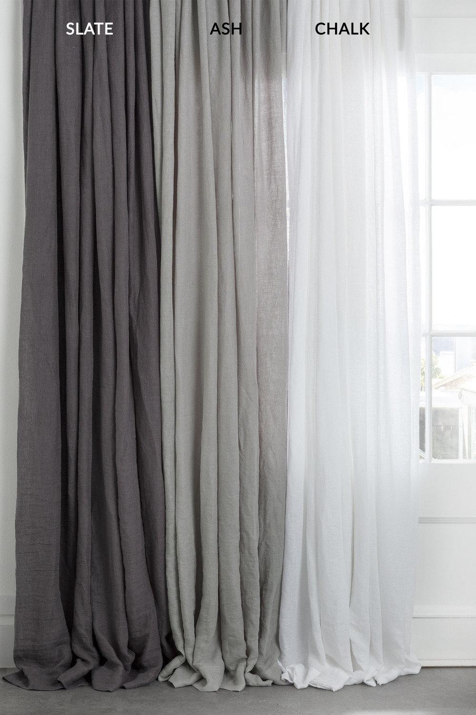 Hampton Linen Curtain Set Online | Shop Ezibuy Home Inside Linen Button Window Curtains Single Panel (View 15 of 20)