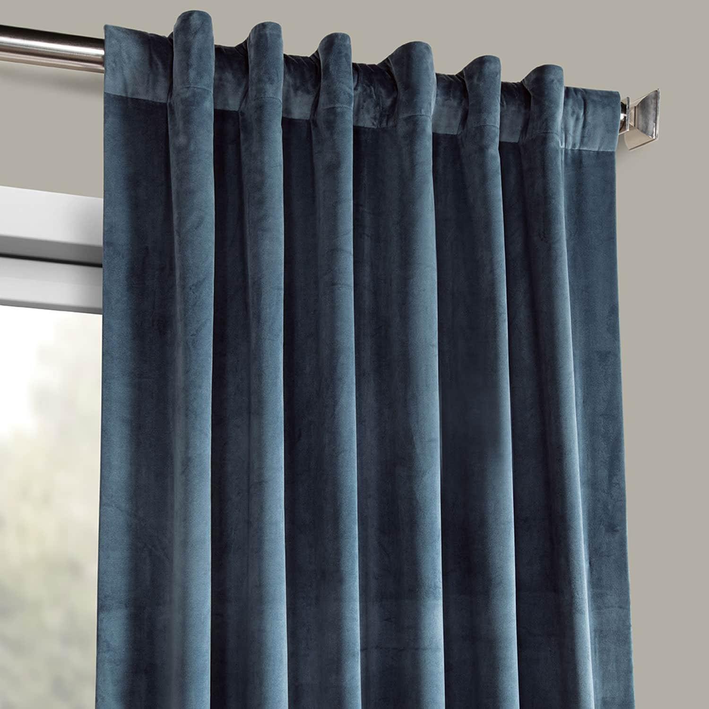 Heritage Plush Velvet Curtain (sold Per Panel) In Heritage Plush Velvet Curtains (View 18 of 20)