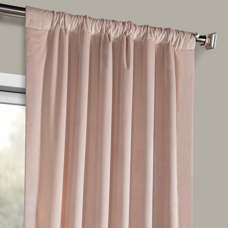 Heritage Plush Velvet Curtain (sold Per Panel) Throughout Heritage Plush Velvet Single Curtain Panels (View 14 of 20)
