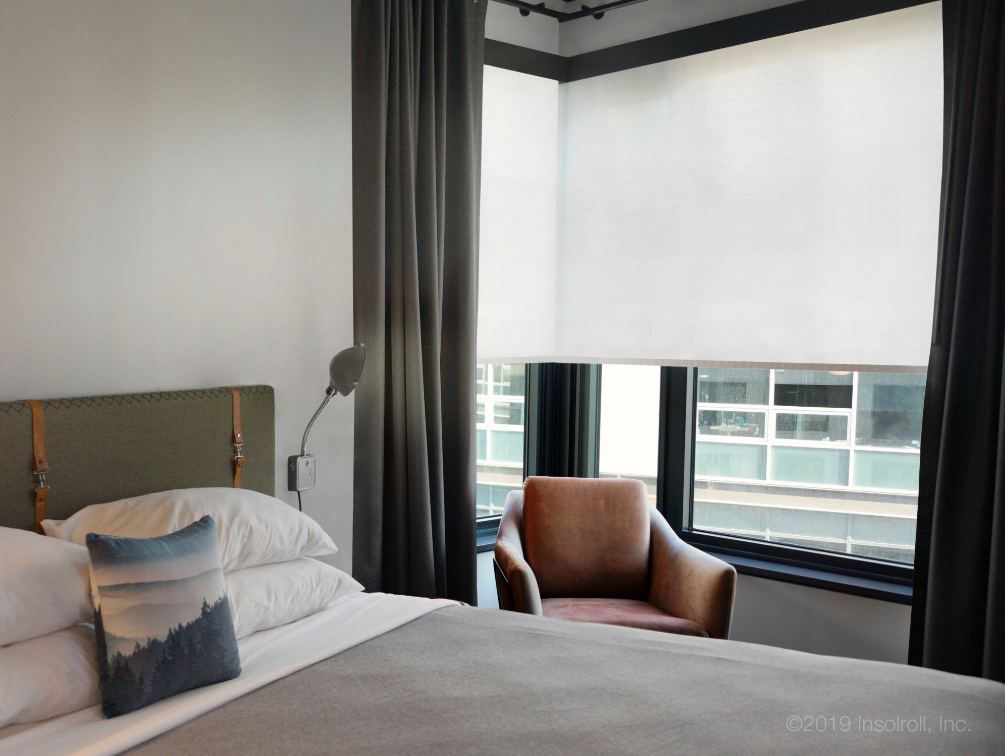 Hotel Window Shades | Insolroll With Regard To All Seasons Blackout Window Curtains (Image 16 of 20)