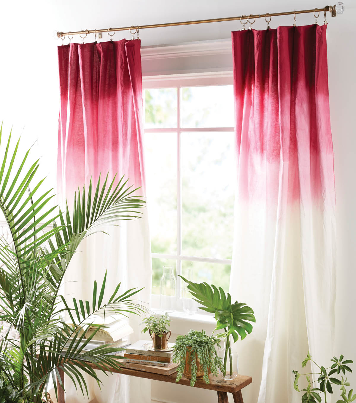 How To Make Ombre Curtains: Diy Ombre Curtains | Joann With Regard To Ombre Embroidery Curtain Panels (View 11 of 20)