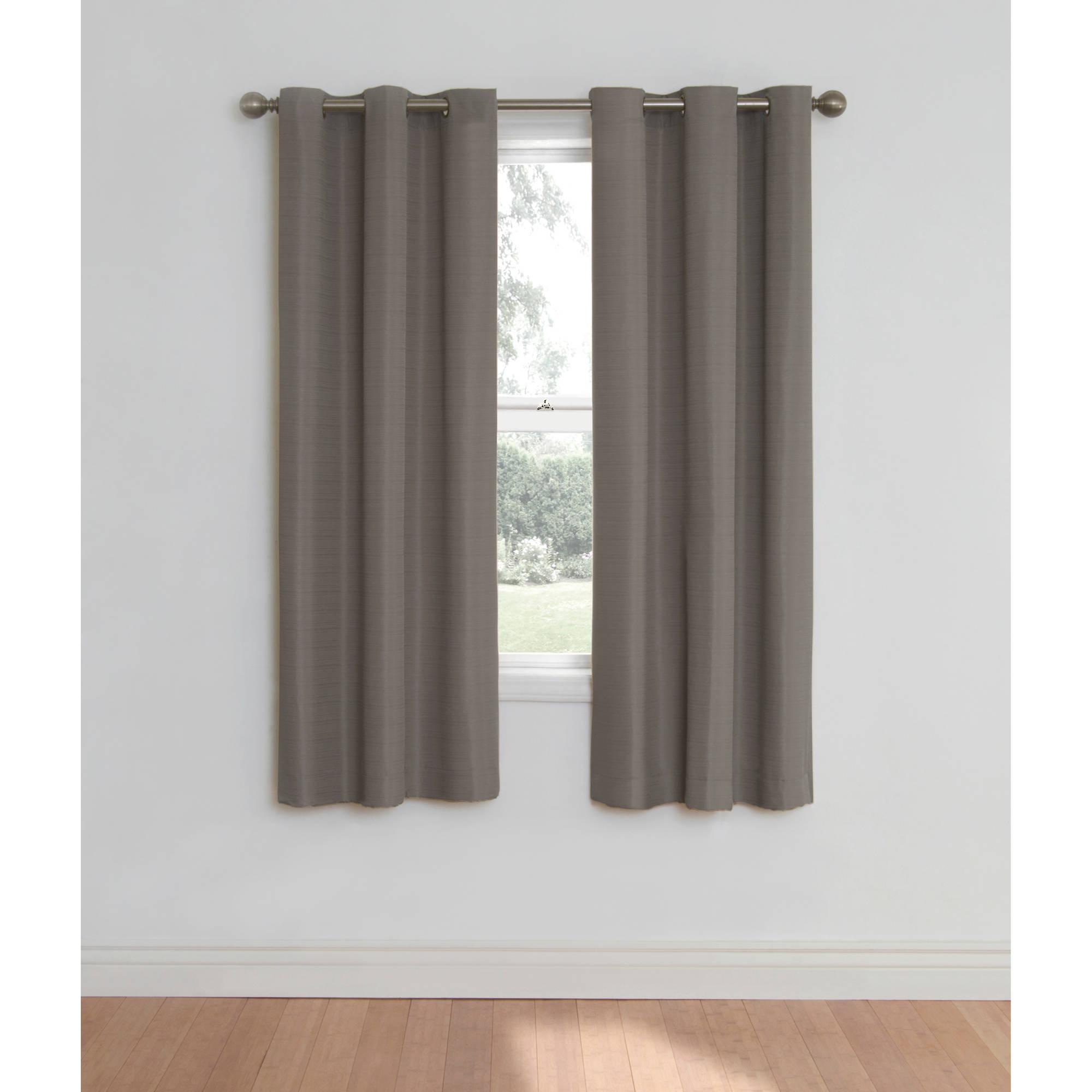 Ideas: Sensational Grommet Curtain Panels With Inspiring within Ultimate Blackout Short Length Grommet Panels (Image 14 of 30)