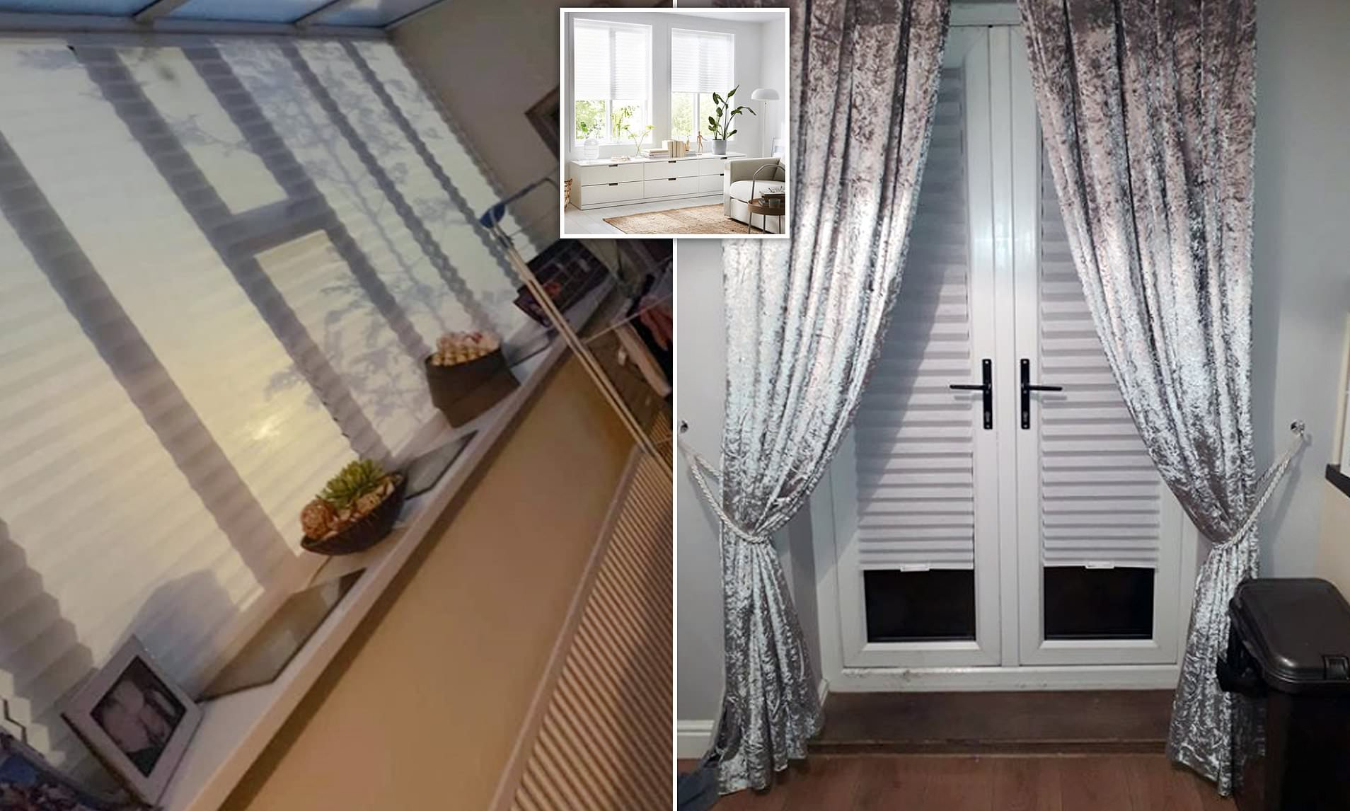 Ikea Wows Home Improvement Fans With £3 Blinds That Fits Any With Regard To Luxury Collection Summit Sheer Curtain Panel Pairs (View 16 of 20)