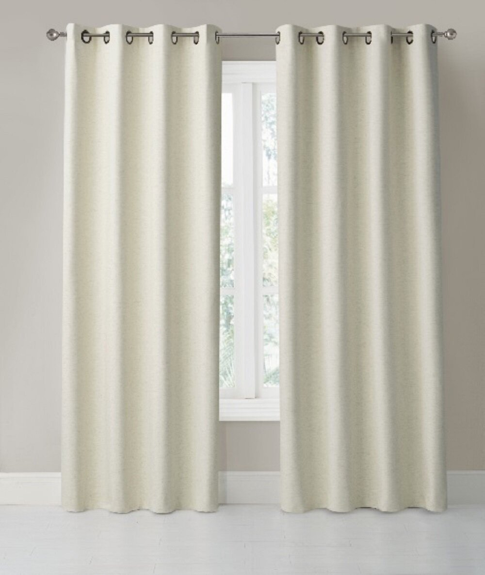 Irina Solid Max Blackout Thermal Grommet Single Curtain Panel For London Blackout Panel Pair (View 16 of 20)