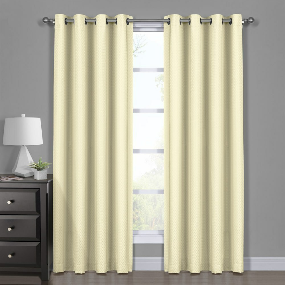 Ivory Blackout Curtains – Mercadeo (View 20 of 20)