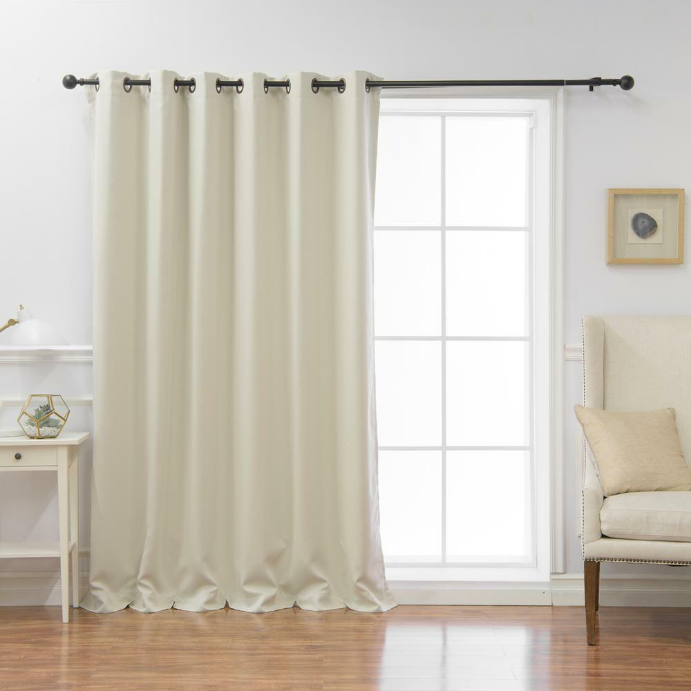 Ivory Blackout Curtains – Mercadeo (View 18 of 34)
