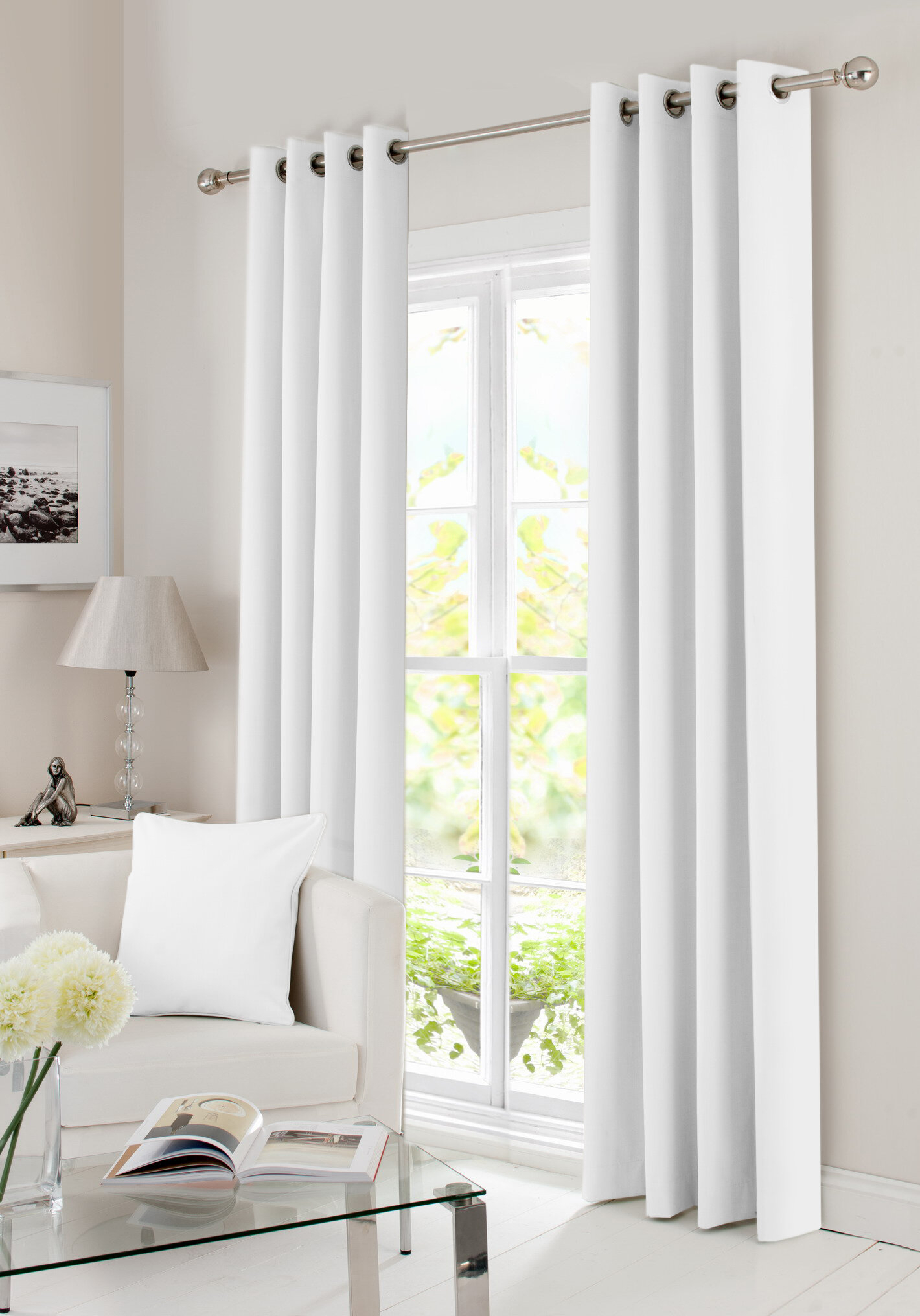 Joesph Solid Max Blackout Thermal Grommet Curtain Panels Intended For Superior Leaves Insulated Thermal Blackout Grommet Curtain Panel Pairs (View 18 of 30)
