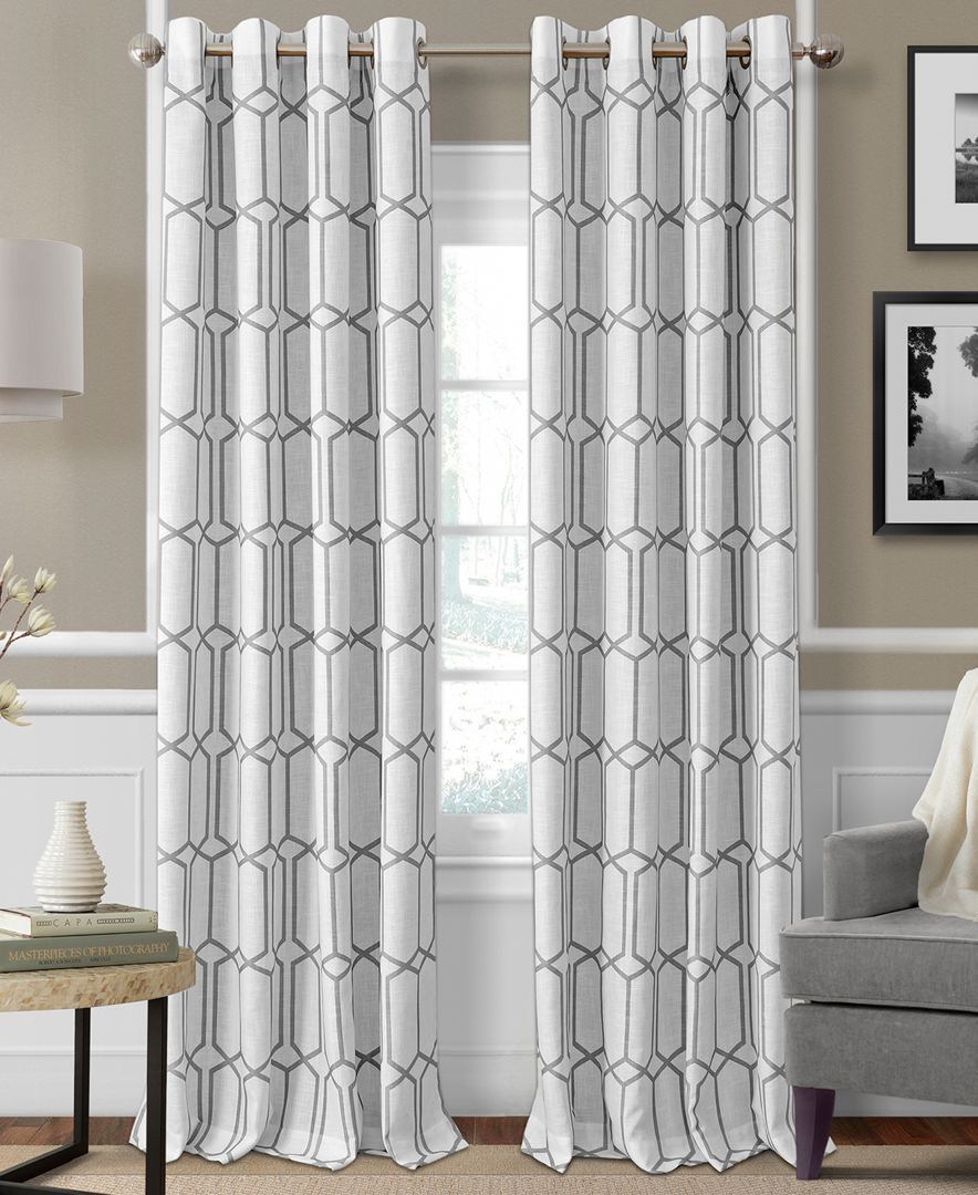 Kaiden Blackout Linen 52 X 84 Window Panel | Products For Kaiden Geometric Room Darkening Window Curtains (View 16 of 20)